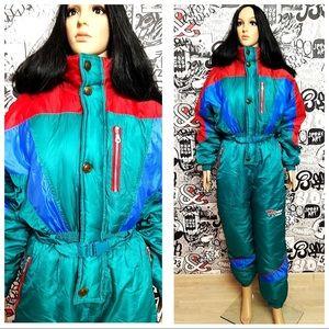 Other - Retro Vintage Ski Onesie 1980's. Never worn.